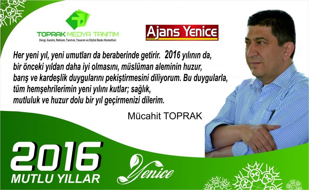 Mücahit Abi 2015 Yılbaşı Tebriği