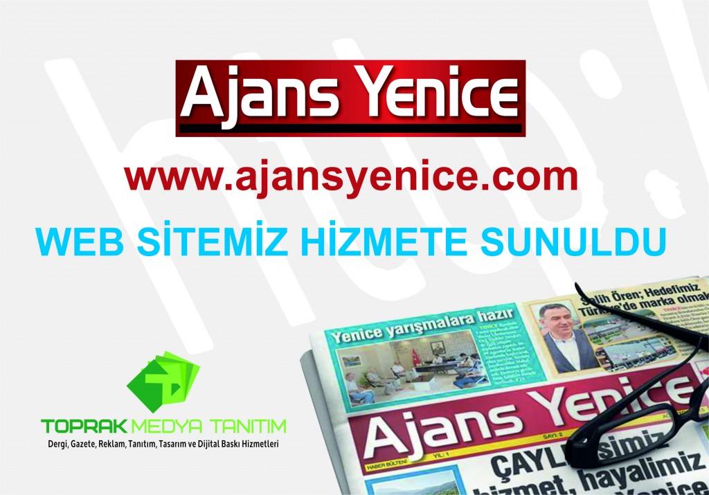 Web sitemiz hizmete sunuldu