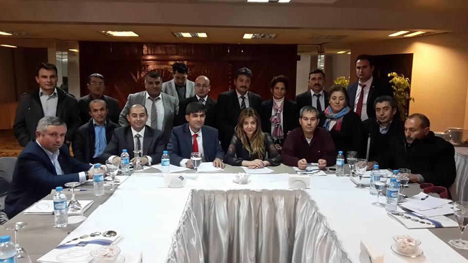 Yenice Engeliler Derneği Ankara'da temaslarda bulundu