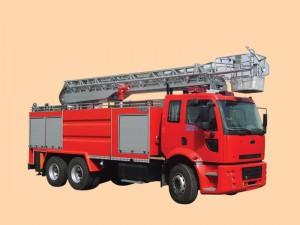 24 metrelik itfaiye aracı