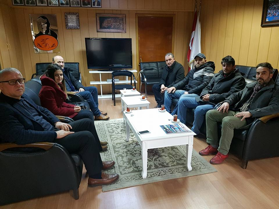 Selim Osmanlı Derneği Çaylı'yı ziyaret etti