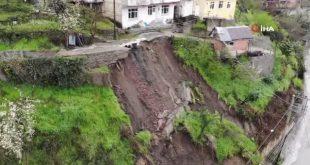 Zonguldak'ta heyelan dolayısıyla 4 ayda 51 konut tahliye edildi